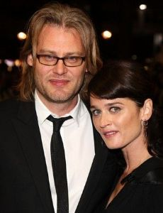 Robin Tunney And Andrew Dominik
