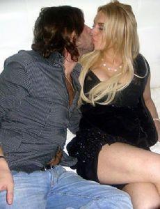 Lindsay Lohan and Dario Faiella