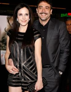 Jeffrey Dean Morgan and Mary-Louise Parker