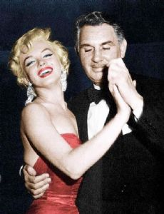 Charles Feldman and Marilyn Monroe