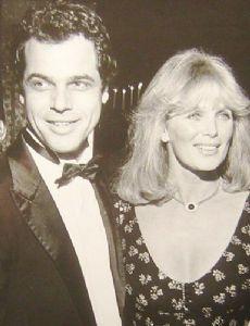 George Santo Pietro and Linda Evans