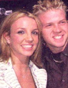 Britney Spears and Robbie Carrico
