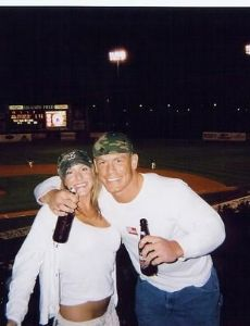John Cena and Liz