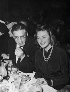 David Selznick and Ingrid Bergman
