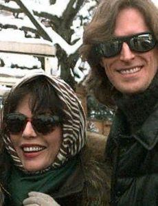 Joan Collins and Tim