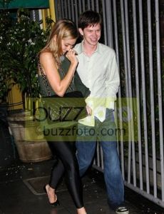 Lee Norris and Lauren Conrad
