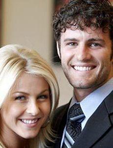 Julianne Hough and Zack Wilson