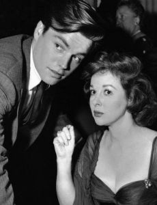 Susan Hayward and Robert Wagner