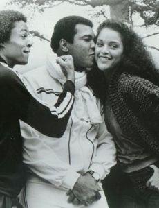 Jayne Kennedy and Leon Kennedy