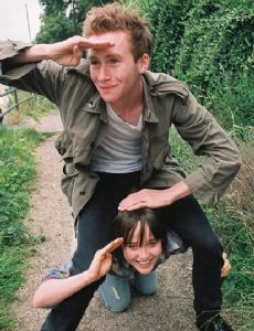 Ellen Page and Mark Rendall