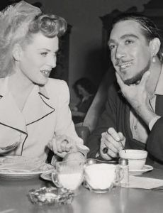 Peter Lawford and Betty Grable