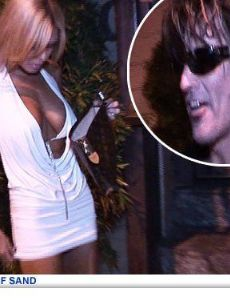 Shauna Sand and Tommy Lee