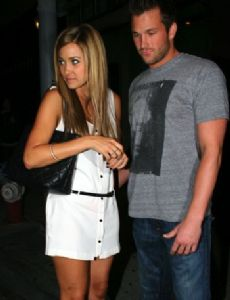 Lauren Conrad and Doug Reinhardt