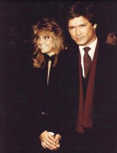 Heather Locklear and Andrew Stevens