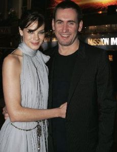 Michelle Monaghan and Peter White