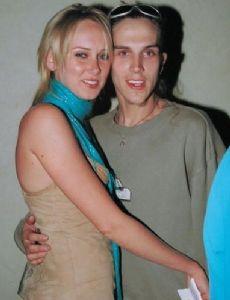 Kimberly Stewart and Jason Mewes