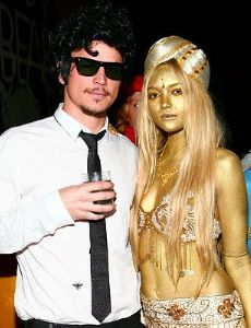 Josh Hartnett and Gemma Ward