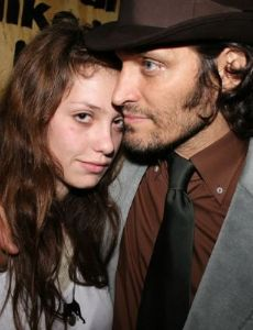 Vincent Gallo and Cory Kennedy