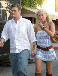 Claire Grieve and Nick Carter