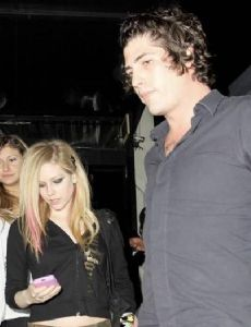 Avril Lavigne and Brandon Davis