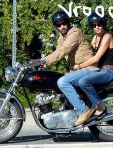 Keanu Reeves and Trinny Woodall