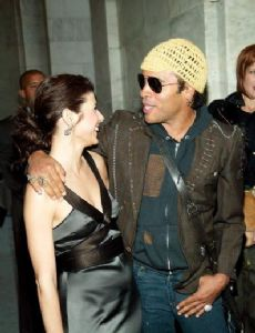 Marisa Tomei and Lenny Kravitz
