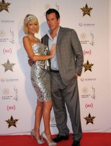 Doug Reinhardt and Paris Hilton