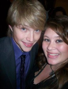 Sterling Knight and Jessica Bridgeman