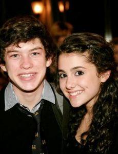 Graham Phillips and Ariana Grande