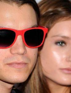 Emile Hirsch and Brianna Domont