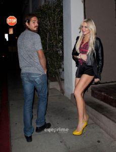 Oscar Lusth and Lindsay Lohan