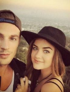 Lucy Hale and Adam Pitts