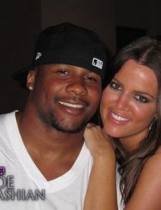 Khloe Kardashian and Derrick Ward