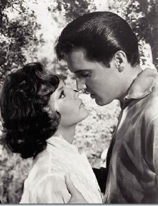 Mary Ann Mobley and Elvis Presley