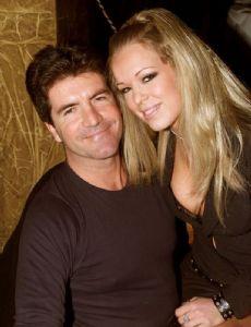 Georgina Law and Simon Cowell