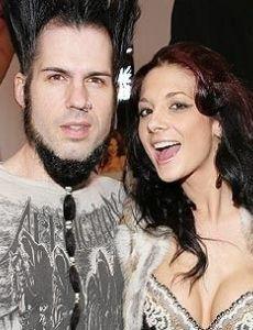Wayne Static and Tera Wray