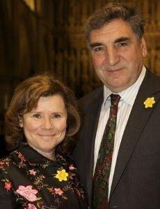 Jim Carter and Imelda Staunton