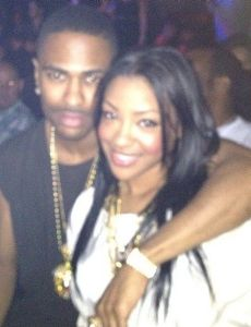 Big Sean and Ashley Marie (i)