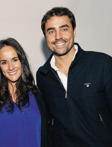 Ricardo Pereira and Francisca Ribeiro
