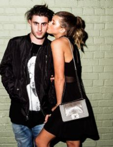 Sofia Richie and Jake Andrews