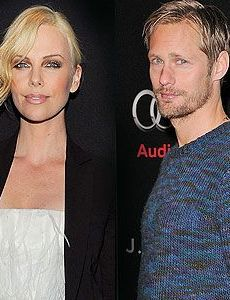 Alexander Skarsgård and Charlize Theron
