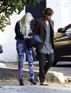Lindsay Lohan and Henry Hopper