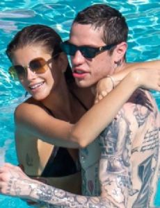 Pete Davidson and Kaia Gerber