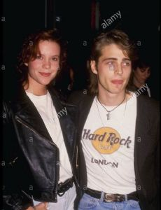 Jason Priestley and Robin Lively
