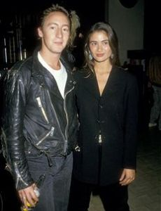 Charlotte Lewis and Julian Lennon
