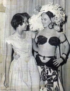 Jane Lawrence and Marilyn Monroe