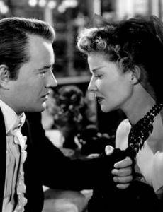 Katharine Hepburn and Robert Walker