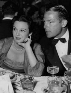Patricia Medina and Collier Young