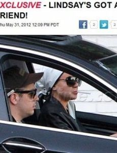 Gavin Doyle and Lindsay Lohan