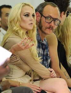 Lindsay Lohan and Terry Richardson